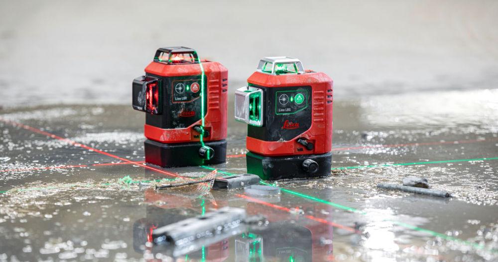 Лазерный нивелир Leica LINO L6R и LINO