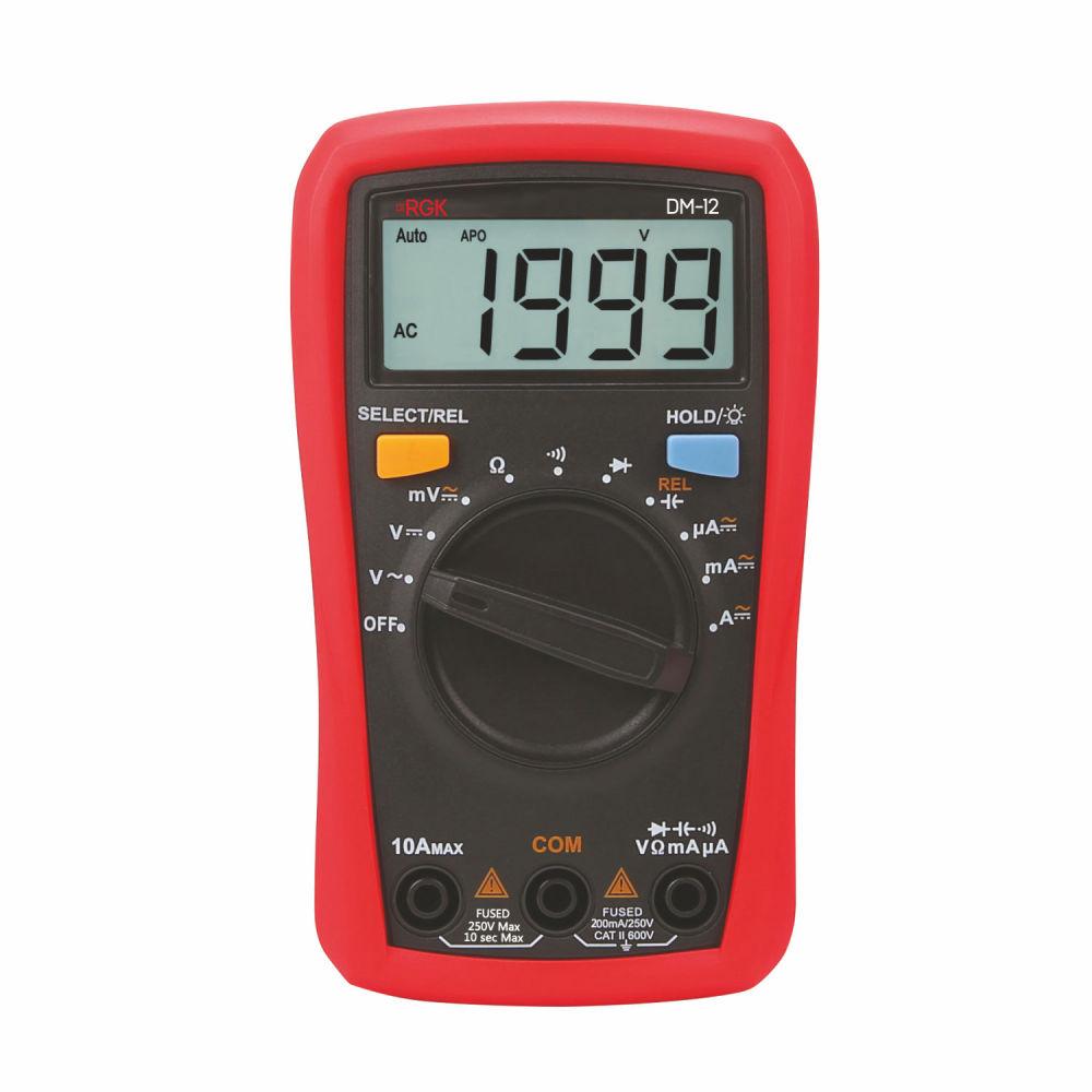Мультиметр RGK DM-12 776561