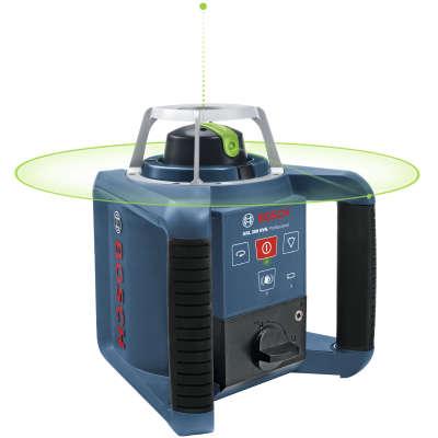 Ротационный лазерный нивелир Bosch GRL 300 HVG SET Professional (0601061701)