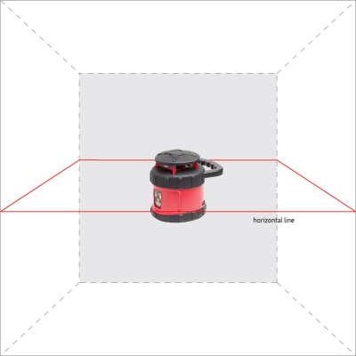 Ротационный лазерный нивелир ADA Rotary 500 H Servo А00338