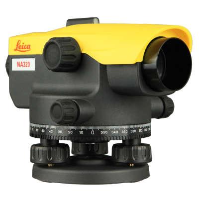 Оптический нивелир Leica NA524 + штатив + рейка 5м