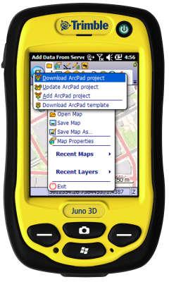Лицензия Trimble GPS correct для ESRI ArcPad 46837-VG