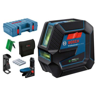 Лазерный уровень Bosch GCL 2-50 G + L-box 0601066M02