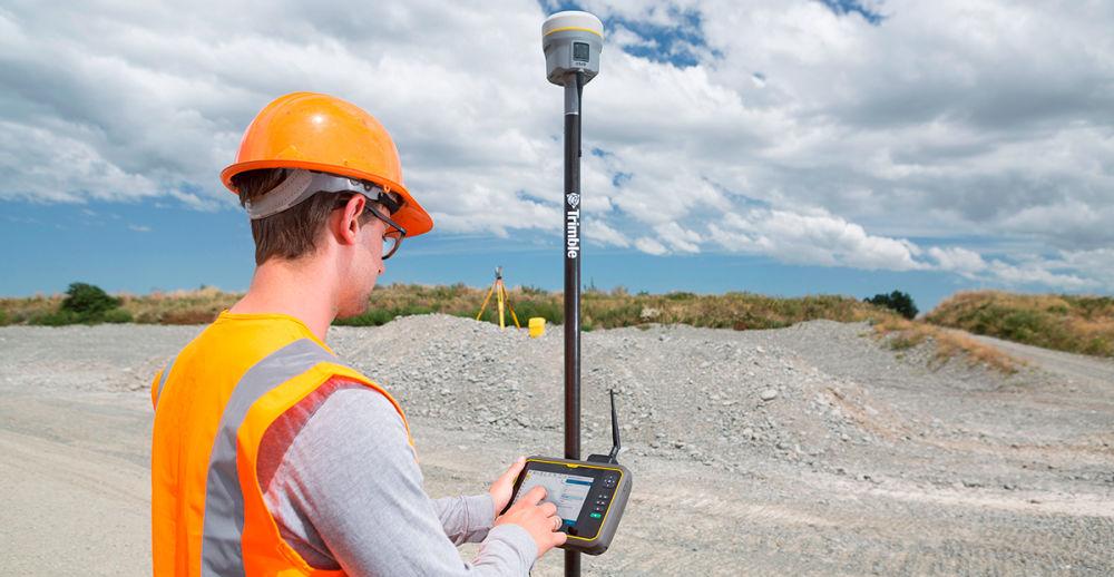 GNSS-приемник Trimble R10-2 с контроллером T7