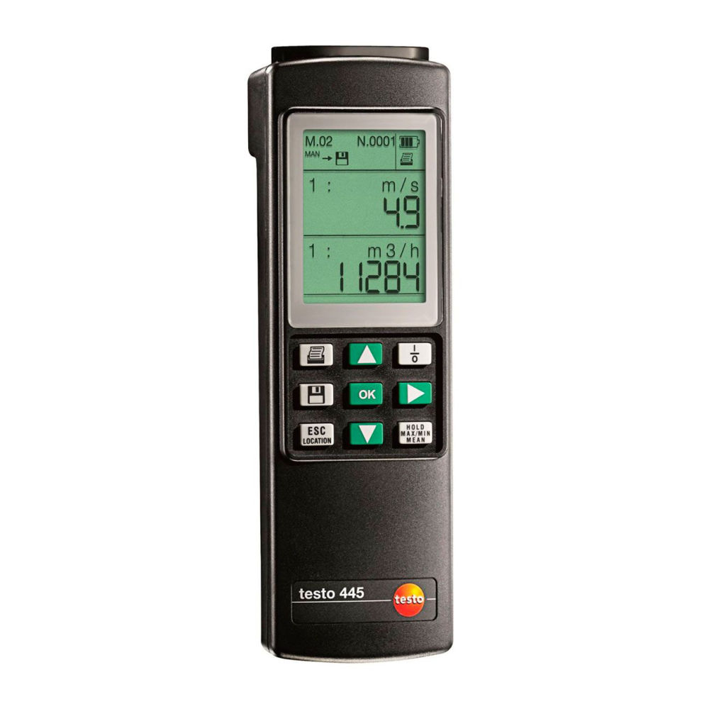 Анемометр Testo 445 с поверкой 0560 4450П