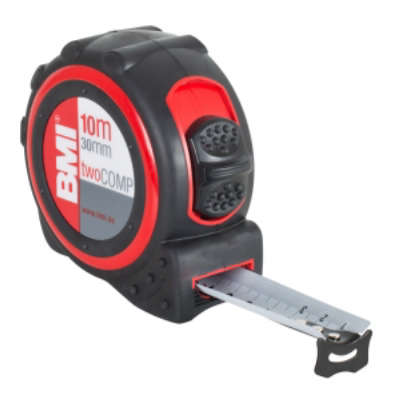 Рулетка BMI twoCOMP 10m Magnetic