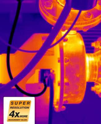 Технология SuperResolution для тепловизоров Testo