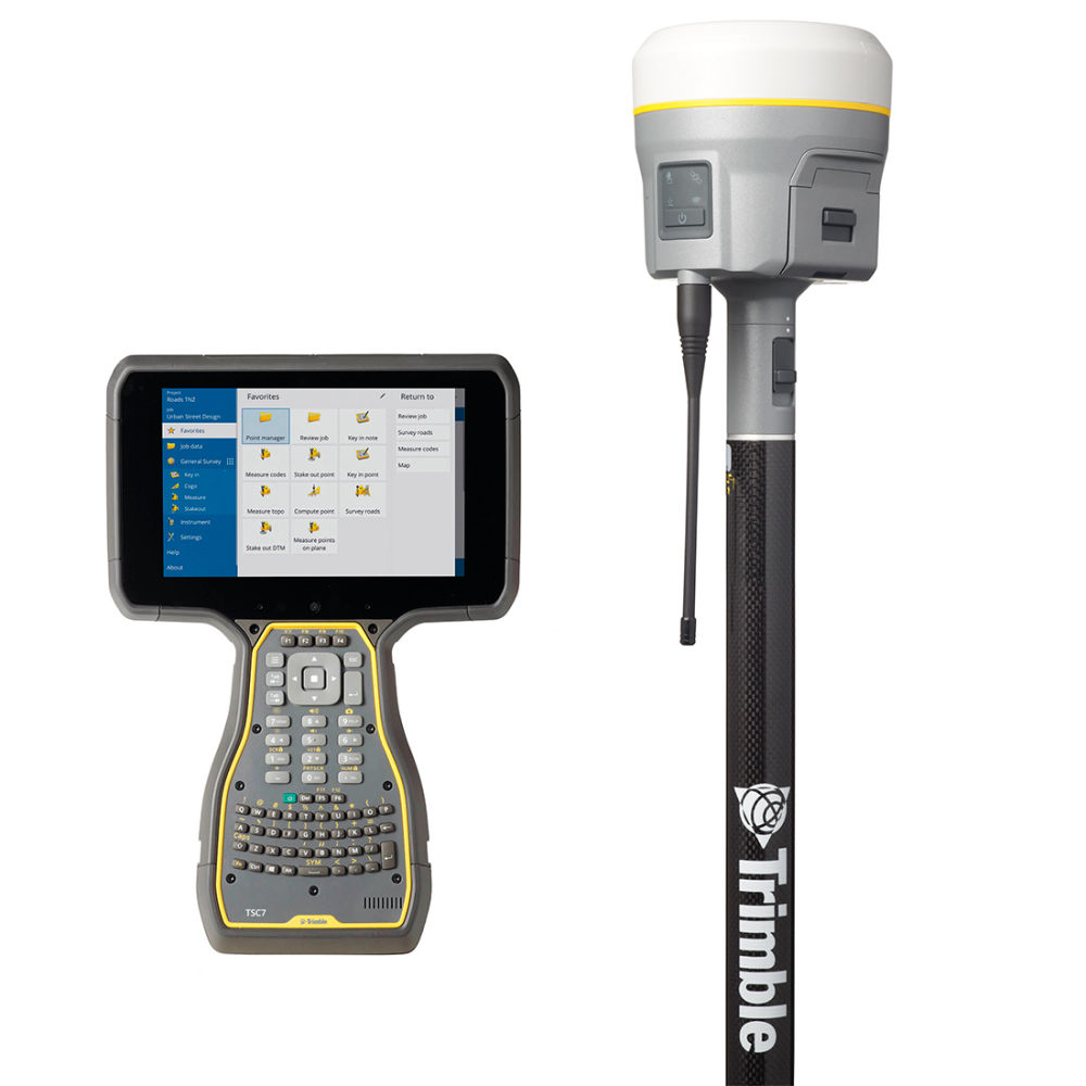 RTK-ровер Trimble R10-2 (LTE) Base and Rover Mode + TSC7 ABCD TA GNSS