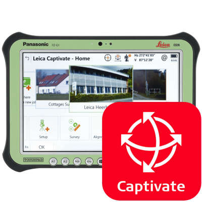 Программное обеспечение Leica Captivate CS3x Survey Stakeout (827719)