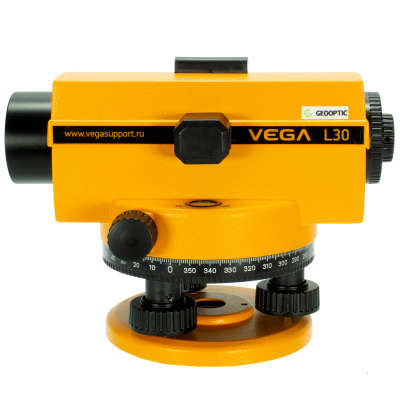 Оптический нивелир Vega L30 с поверкой. GEOOPTIC фото 4