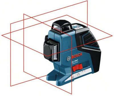 Лазерный уровень Bosch GLL 3-80 P (BТ150) 0601063306