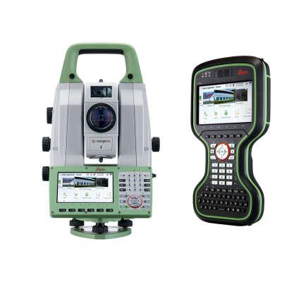 "Сканирующий тахеометр Leica MS60 1"" (2020) + контроллер CS20"