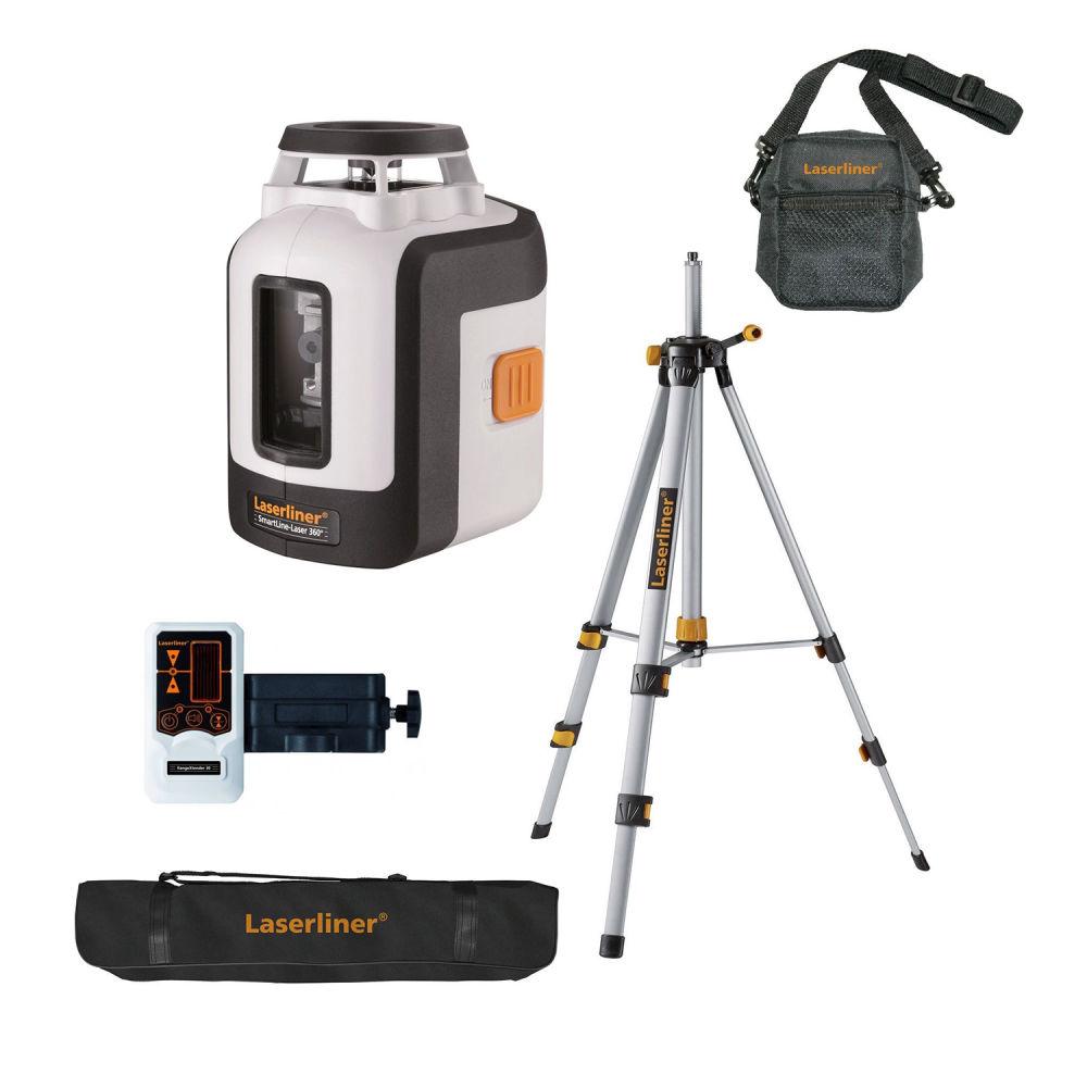Лазерный уровень Laserliner SmartLine-Laser 360° Bonus Set 081.118B