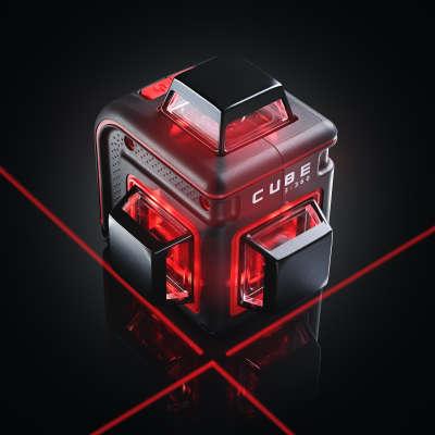 Лазерный уровень ADA Cube 3-360 Home Edition (А00565)