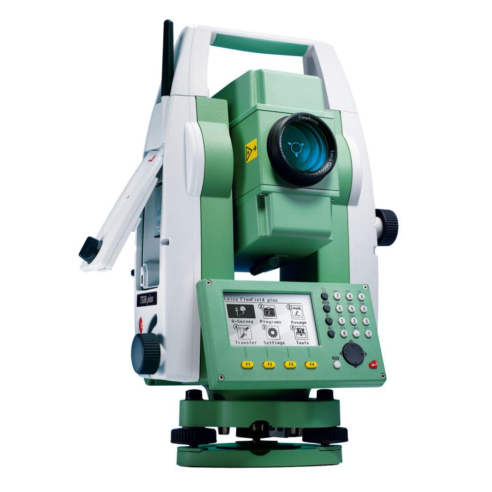 """Тахеометр Leica TS06 RUS R1000 (1"""", EGL) 8246929"""