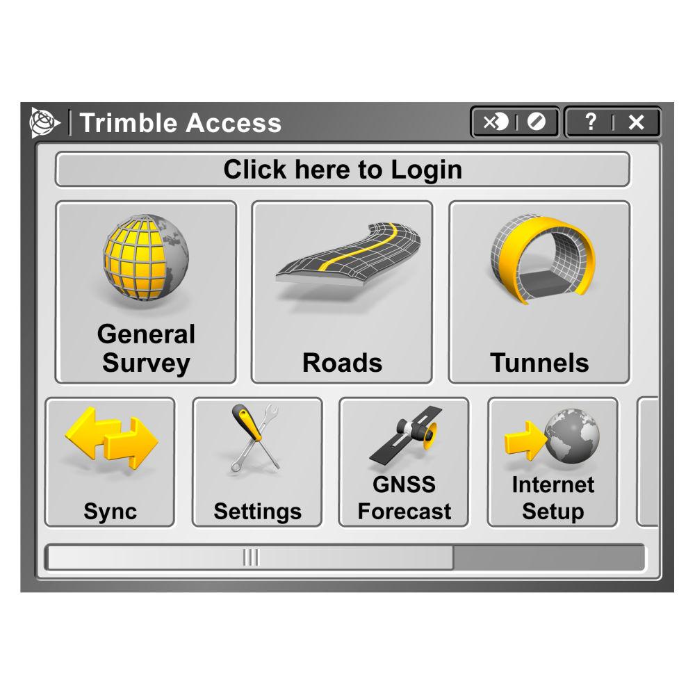 Программное обеспечение Trimble Access General Survey TA-GENSURV-P
