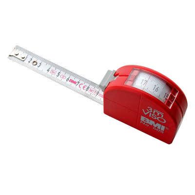 Рулетка BMI VISO 3m с поверкой
