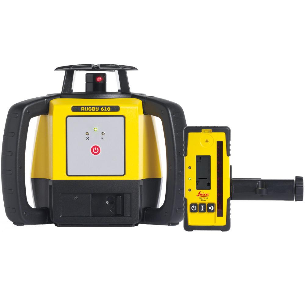 Ротационный лазерный нивелир Leica Rugby 610 RE140 6015673
