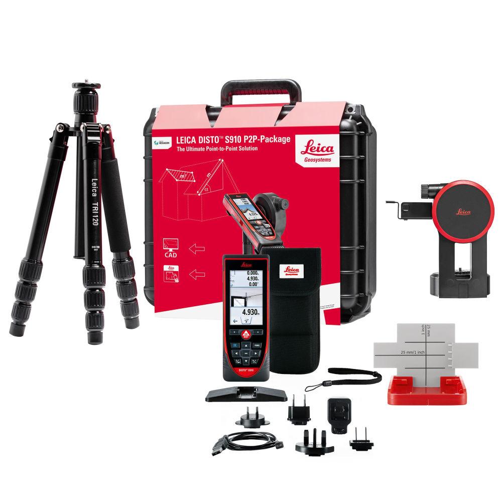 Лазерный дальномер Leica DISTO S910 Package NEW 887900