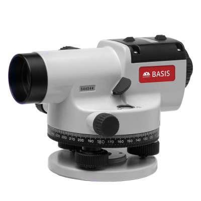Оптический нивелир ADA Basis с поверкой + Staff 3 + Light S (А00197_К)