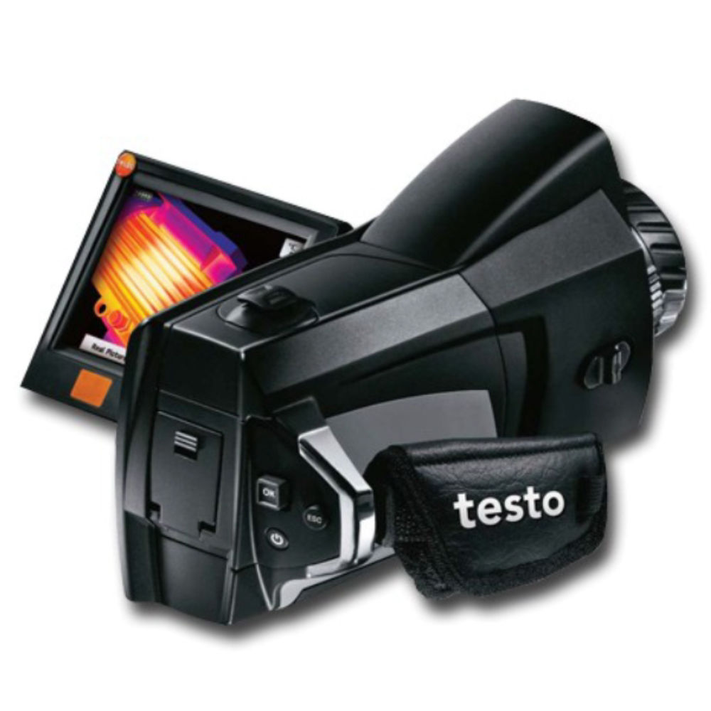 Тепловизор Testo 885-2 c супер-телеобъективом + V1 0563 0885 X4