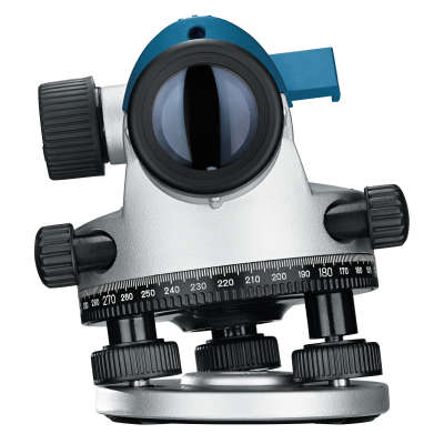 Оптический нивелир Bosch GOL 26D + штатив BT160 + рейка GR500 0.601.068.002
