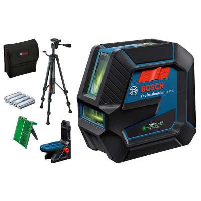 Лазерный уровень Bosch GCL 2-50G + LB10 + BT150 (0601066M01)