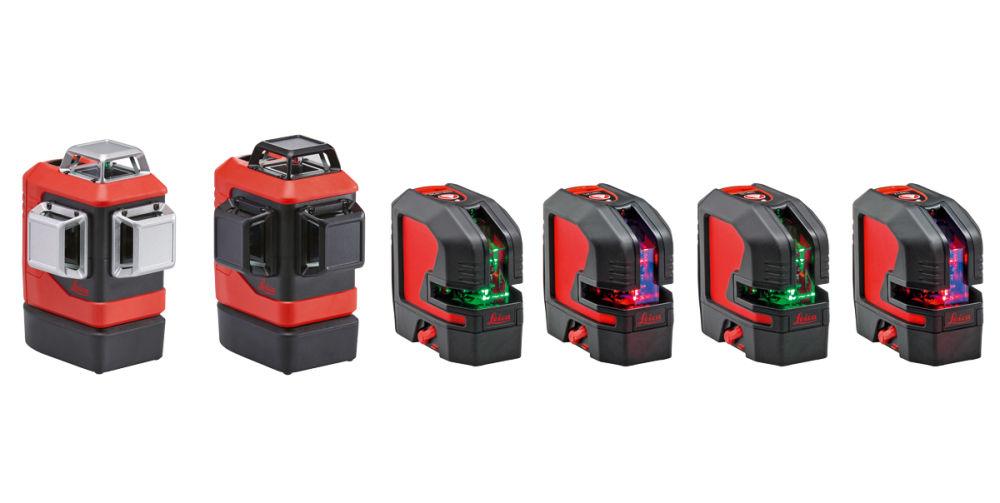 Модельный ряд лазерных уровней Leica Lino
