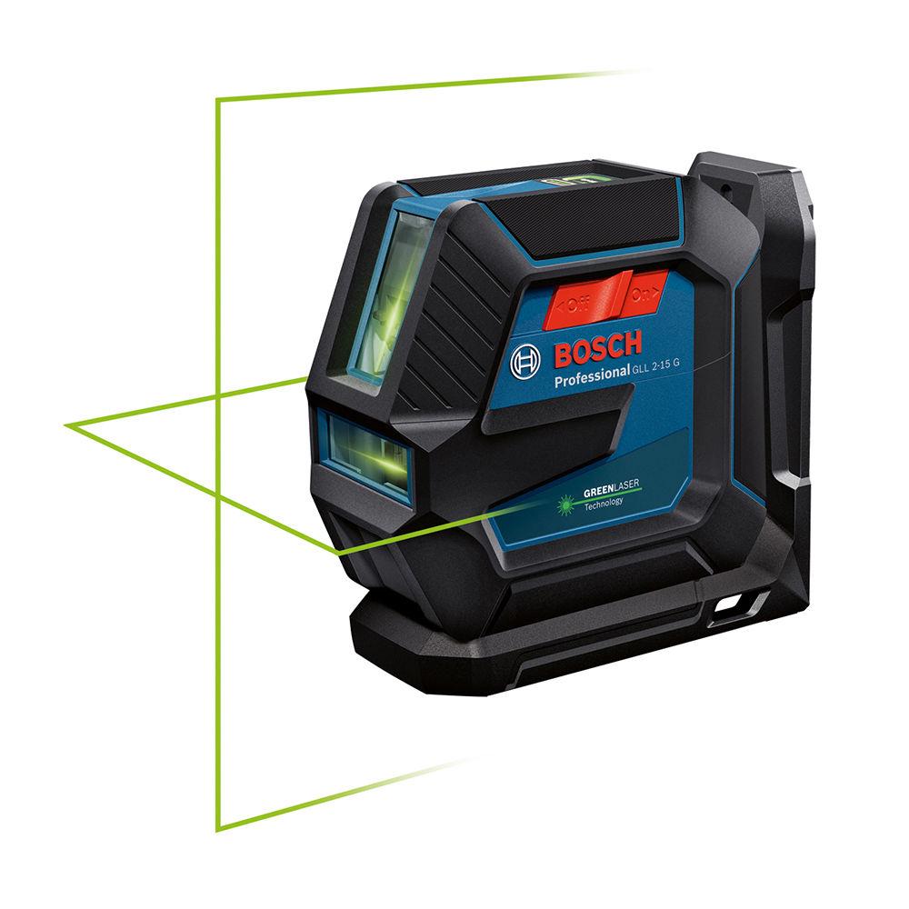 Лазерный уровень Bosch GLL2-15 G + LB10 0601063W00