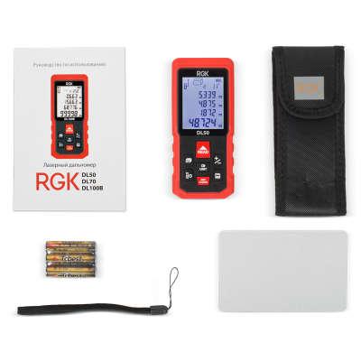 Лазерный дальномер RGK DL50 4610011873904
