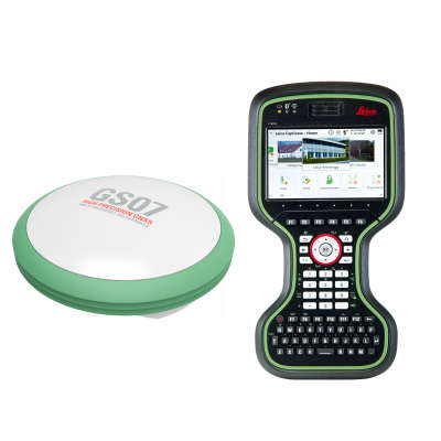 Комплект RTK-ровера Leica GS07, CS20 Disto GSM + Radio, 1 год Smartnet