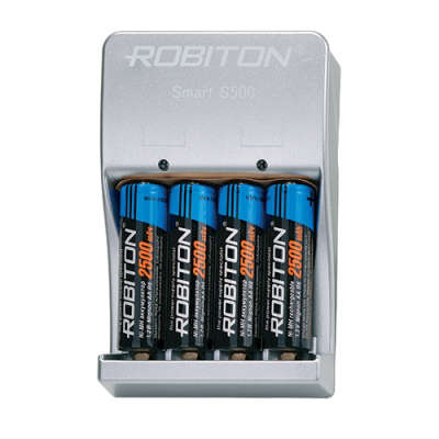 Зарядное устройство ROBITON Smart S500-4MHAA