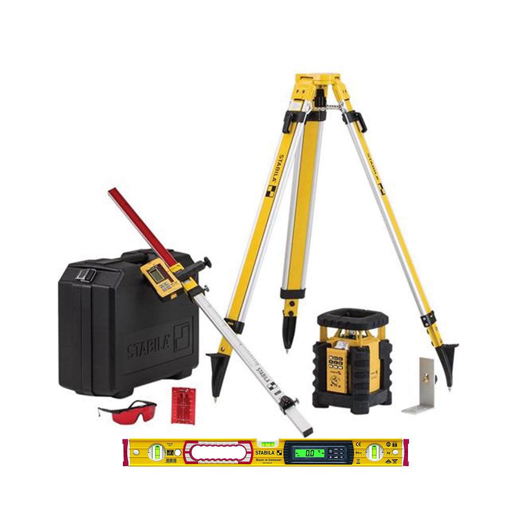 Лазерный нивелир STABILA LAR350 + BST-S + NL + TECH 196 electronic 61 см 19111