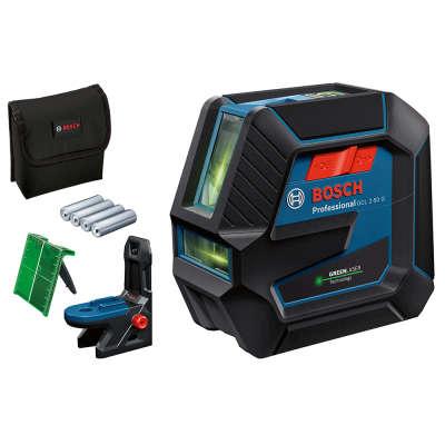 Лазерный уровень Bosch GCL 2-50 G + RM10 (0601066M00)