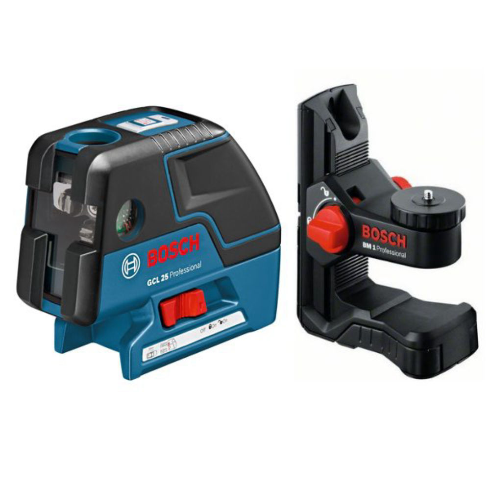 Лазерный уровень Bosch GCL 25 Professional +BM1 +L-Boxx 136 0601066B03
