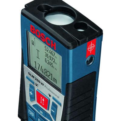 Лазерный дальномер Bosch GLM 250VF Professional + BT150 061599402J