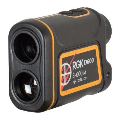 Лазерный дальномер RGK D600 (4610011873850)