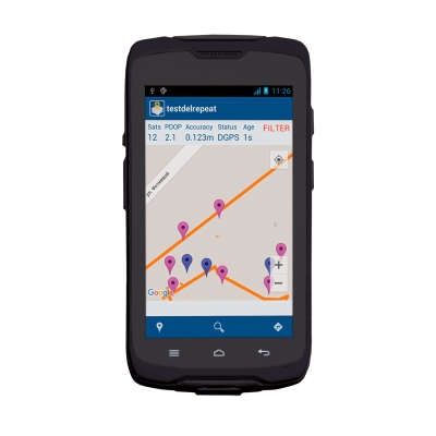 Контроллер Spectra MobileMapper 50 4G 107705-00