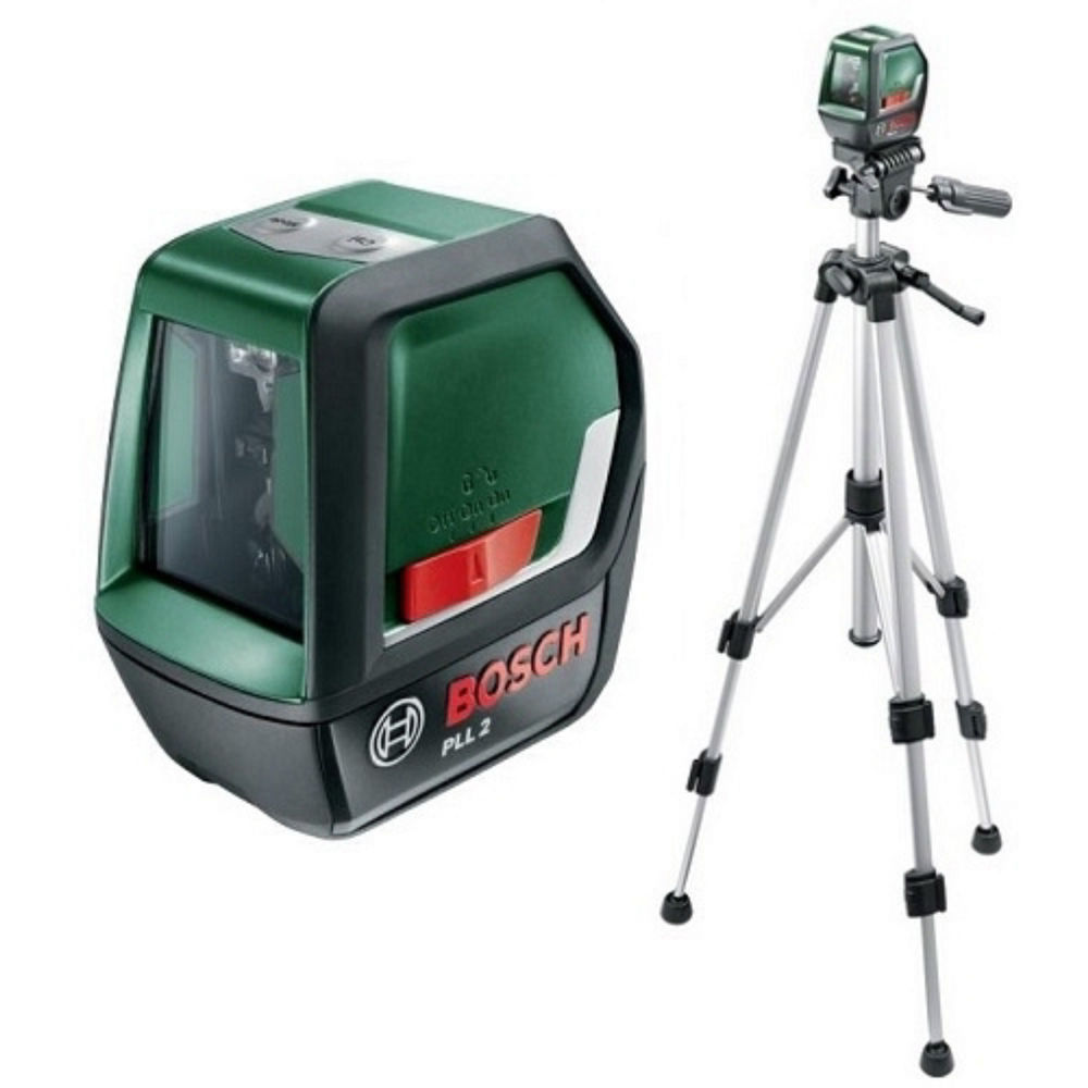 Лазерный уровень Bosch PLL 2 Set 0.603.663.401
