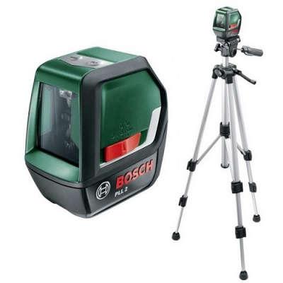 Лазерный уровень Bosch PLL 2 Set 0603663401
