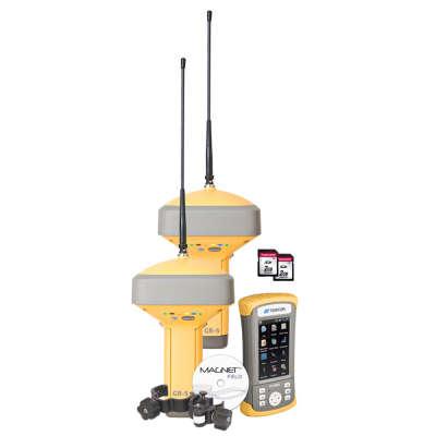 Комплект 2 Topcon GR-5 с UHF/GSM и контроллер FC-500 с GSM