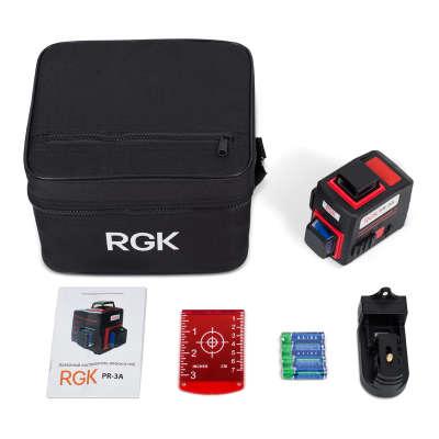 Лазерный уровень RGK PR-3A 4610011872877