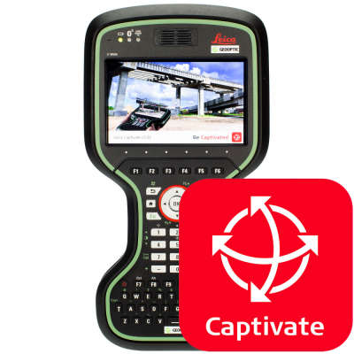 Программное обеспечение Leica Captivate CS20 Survey Stakeout (827698)