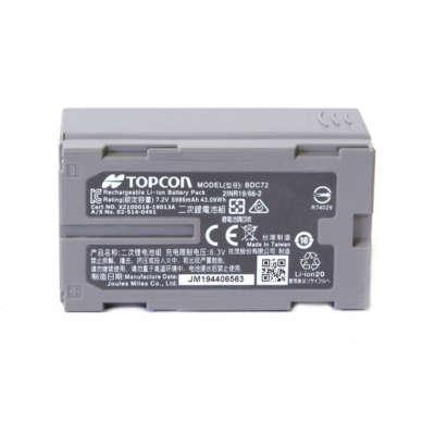 Аккумулятор Topcon BDC72 1880210231
