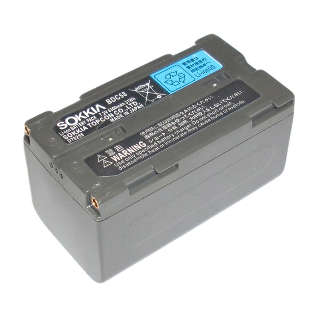 Аккумулятор для Sokkia ELC BDC58 (Li-Ion, 7,2В, 4300мАч) BDC58 (аналог)