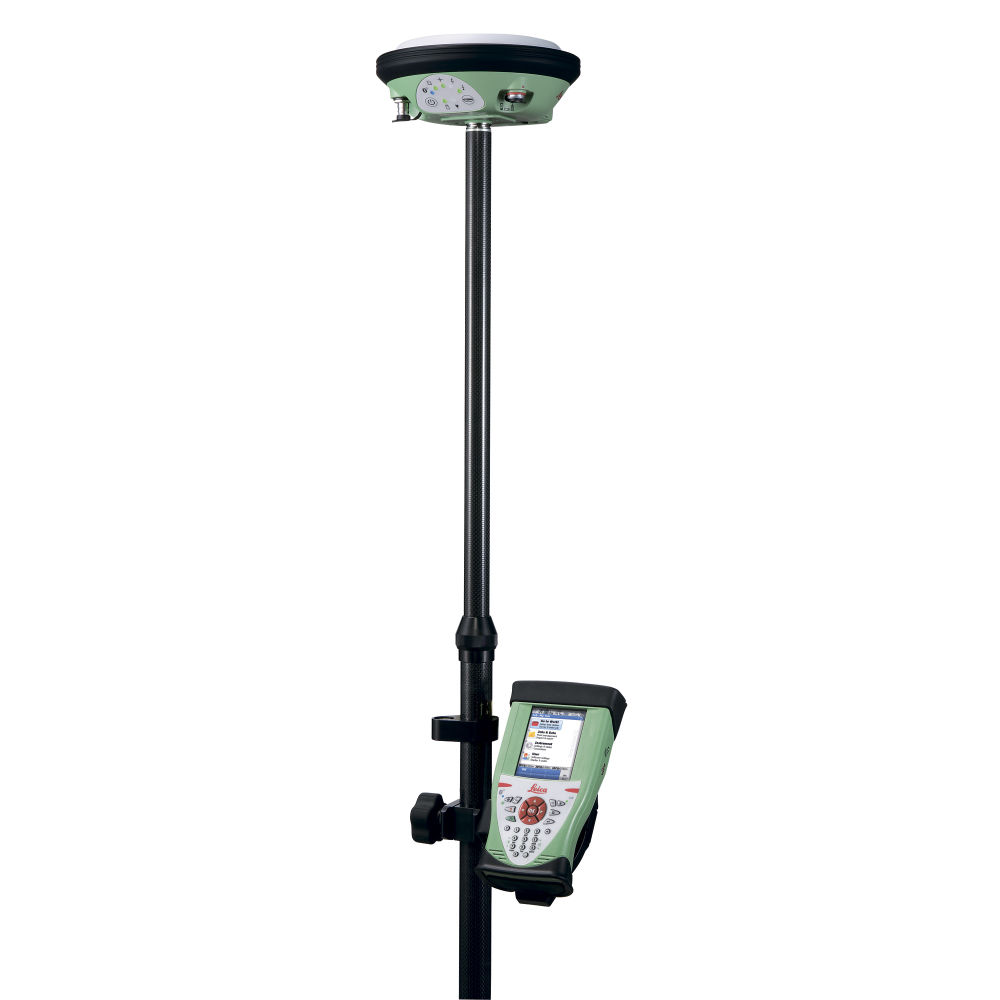 Комплект ровера Leica GS14 GSM+UHF, Rover CS15