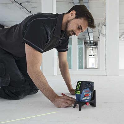Лазерный уровень Bosch GCL 2-50 CG + RM2+ BM3+ 12V+ Lboxx (0601066H00)