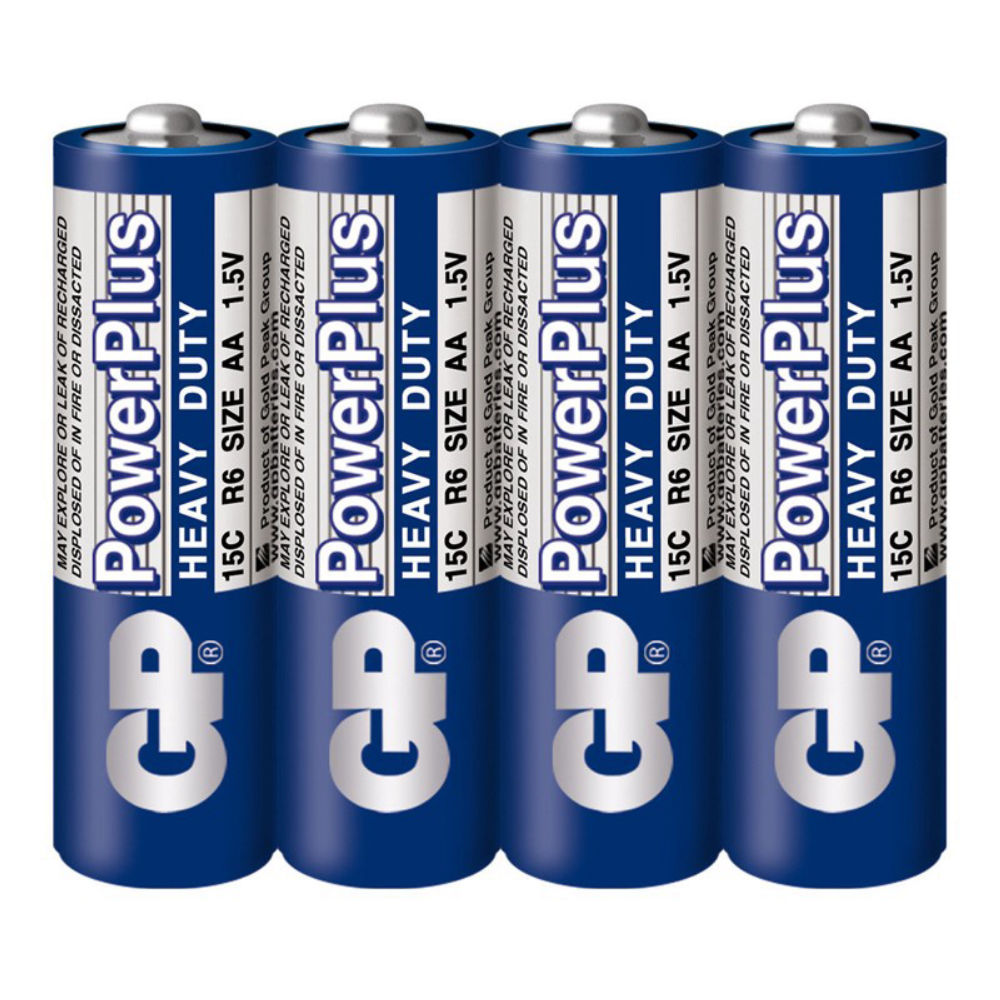 Батарейка GP PowerPlus Heavy Duty 15C/R06 R6 SR4 4891199138003