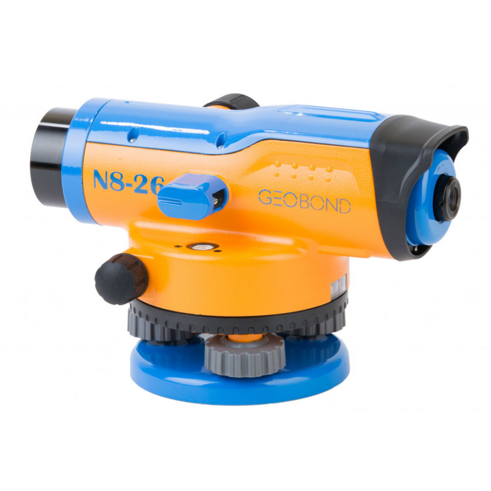 Оптический нивелир GEOBOX N8-26 TRIO с поверкой 100144