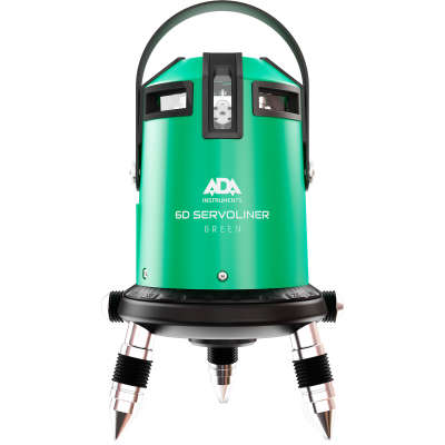 Лазерный уровень ADA 6D Servoliner Green (А00500)